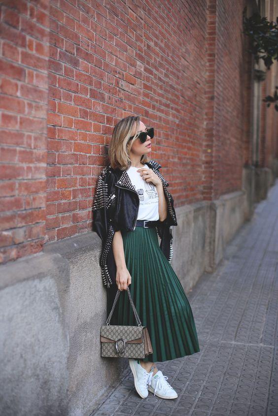 Súmate A La Moda De Las Faldas Plisadas: Mis Favoritas A Continuación